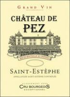 Chateau de Pez St. Estephe 2000 Rated 93WE