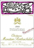 Chateau Mouton Rothschild Pauillac 1988 Rated 92WS
