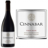 Cinnabar Santa Cruz Mountains Lester Family Vineyard Pinot Noir 2013 Rated 94WE