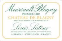 Louis Latour Meursault 1er Cru Chateau de Blagny 2013 Rated 91WE