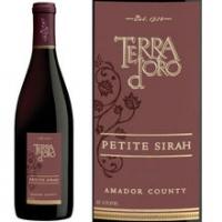 Terra d'Oro Amador County Petite Sirah 2013 Rated 91WE EDITORS CHOICE