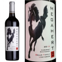 Bello Family Vineyards Megahertz Napa Cabernet 2014 Etched 1.5L