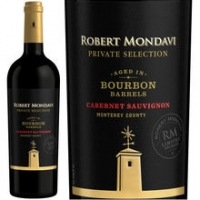 Robert Mondavi Private Selection Monterey Bourbon Barrel-Aged Cabernet 2014