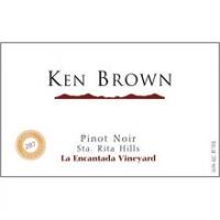 Ken Brown La Encantada Vineyard Sta. Rita Hills Pinot Noir 2013