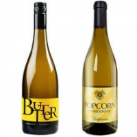 BUTTER and POPCORN Chardonnay 2 Bottle Combo