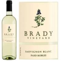 Brady Paso Robles Sauvignon Blanc 2015