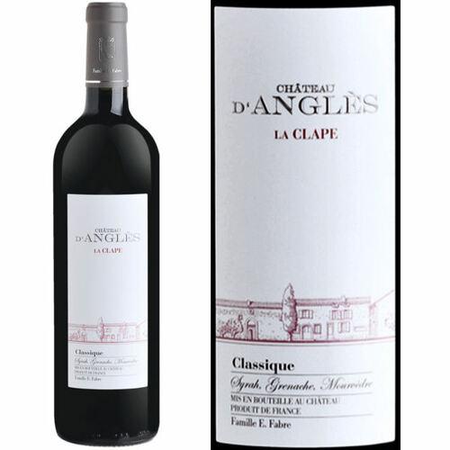 Chateau d'Angles La Clape Languedoc Classique Red 2015 (France) Rated 91WA