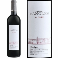 Chateau d'Angles La Clape Languedoc Classique Red 2015 (France) Rated 91WA
