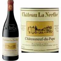 Chateau La Nerthe Chateauneuf du Pape Rouge 2015 Rated 93W&S