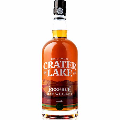 Crater Lake Reserve Rye Whiskey 750ml