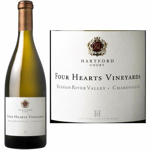 Hartford Court Four Hearts Vineyards Russian River Chardonnay 2018 Rated 96WA