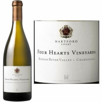 Hartford Court Four Hearts Vineyards Russian River Chardonnay 2015 Rated 96WA