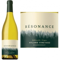 Resonance Hyland Vineyard Chardonnay Oregon 2015 Rated 94WS