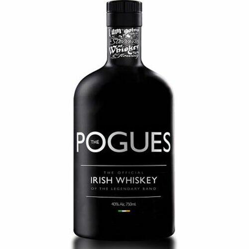 The Pogues Original Irish Whiskey of the Legendary Band 750ml