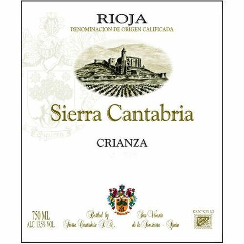 12 Bottle Case Bodegas Sierra Cantabria Crianza 2015 (Spain)