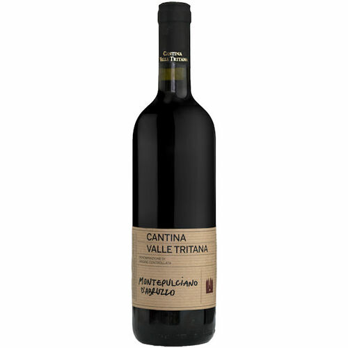 12 Bottle Case Cantina Valle Tritana Montepulciano d'Abruzzo 2017