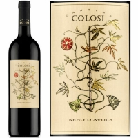 12 Bottle Case Colosi Sicilia Nero d'Avola 2015