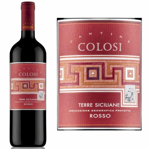 12 Bottle Case Colosi Rosso Terre Siciliane IGP 2018