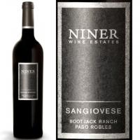 12 Bottle Case Niner Wine Estates Bootjack Ranch Paso Robles Sangiovese 2013