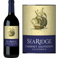 12 Bottle Case Sea Ridge California Cabernet 2015