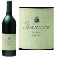 12 Bottle Case Sea Ridge California Merlot 2015