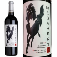 Bello Family Vineyards Megahertz Napa Cabernet 2012 Etched 1.5L