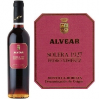 Alvear 1927 Pedro Ximenez Solera (Spain) 375ml Rated 96WA