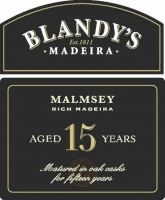 Blandy's 15 Year Old Malmsey Madeira 500ML Rated 92WS