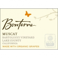 Bonterra Bartolucci Vineyard Lake County Muscat Organic 2011 375ML Half Bottle Organically Grown