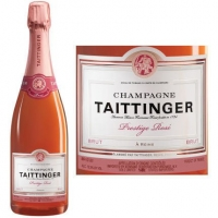 Champagne Taittinger Cuvee Prestige Rose NV 375ml Rated 92WS