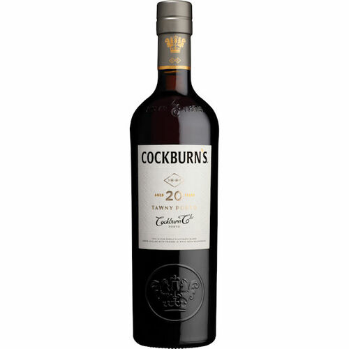 Cockburn's 20 Year Old Tawny Port 750ml Rated 94WS