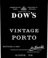 Dow's Vintage Port 2003 375ML Half Bottle Rated 94WA