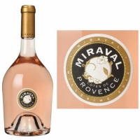 Miraval Cotes de Provence Rose 2016 (France) 375ml Half Bottle