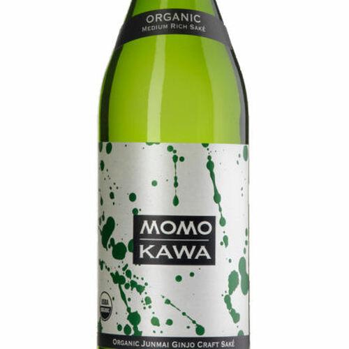 Momokawa Organic Junmai Ginjo Sake 300ml Half Bottle Rated 91BTI BEST BUY