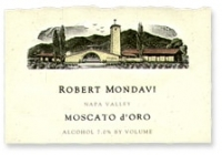 Robert Mondavi Napa Moscato d'Oro 2014 375ML Half Bottle