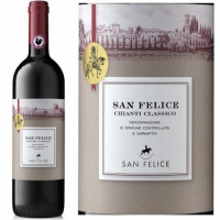 San Felice Chianti Classico DOCG 2017 Rated 91JS 375ml Half Bottle