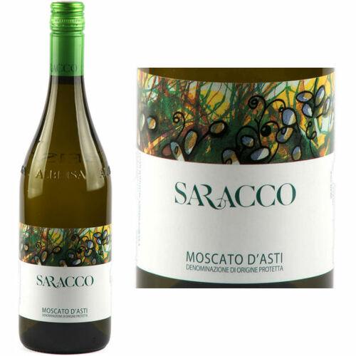 Saracco Moscato D'Asti 2019 (Italy) Rated 95WE EDITORS CHOICE 375ML Half Bottle
