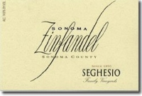 Seghesio Sonoma Zinfandel 2017 375ML Half Bottle Rated 91WS