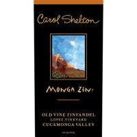 Carol Shelton Monga Zin Cucamonga Old Vines Zinfandel Organic 2017