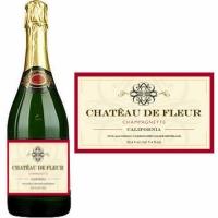 Chateau de Fleur Sparkling Non-Alcoholic Wine