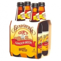 Bundaberg DIET Ginger Beer Non-Alcoholic Beverage (Australia) 4pack 375ML