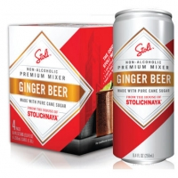 Stoli Ginger Beer Non-Alcoholic Beverage 4pack 275ML