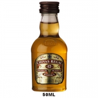 50ml Mini Chivas Regal 12 Year Old Blended Scotch Rated 90-95