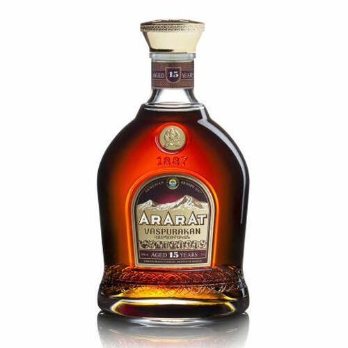 Ararat Vaspurakan 15 Year Old Old Armenia Brandy 750ml
