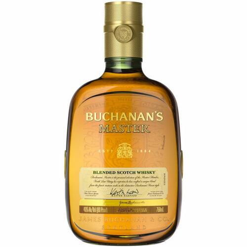 Buchanan's Master Blended Scotch Whiskey 750ml