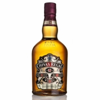 Chivas Regal 12 Year Old Blended Scotch 750ml Old Rated 90-95