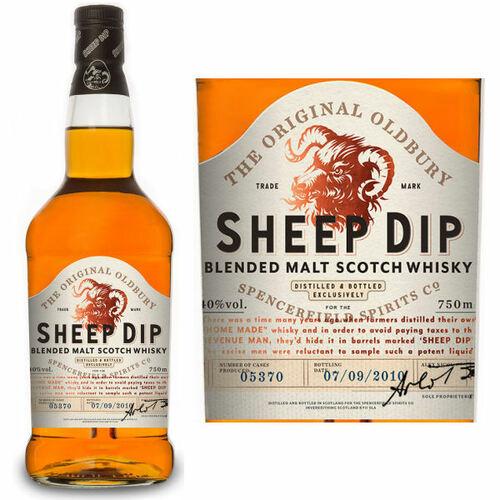 Sheep Dip Blended Malt Scotch Whisky 750ml