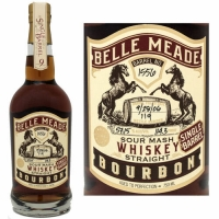 Belle Meade Sour Mash Single Barrel Bourbon Whiskey 750ml