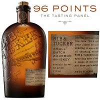 Bib & Tucker 6 Year Old Small Batch Bourbon Whiskey 750ml Rated 96TP