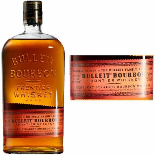 Bulleit Bourbon Kentucky Straight Bourbon Whiskey 750ml